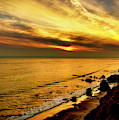 El Matador Beach Sunset by Gene Parks
