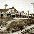 El Monte Hotel, Shamrock Saloon, On Walnut Street Sisson Now Shata City by California Views Archives Mr Pat Hathaway Archives
