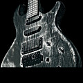 Electric Guitar Musician Player Metal Rock Music Lead Black by Super Katillz