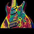 Electric Guitar Musician Player Metal Rock Music Lead by Super Katillz