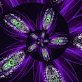 Electric Light Spiral by Rachel Hannah
