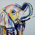 Elephant Tusk by Nickie Perrin Paintings
