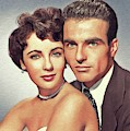 Elizabeth Taylor And Montgomery Clift, Hollywood Legends by John Springfield