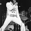 Elvis Presley On Stage During His 1972 by New York Daily News Archive
