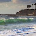Emerald Green Surf by Cliff Wassmann