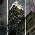 Empire State Building Map by Sharon Popek