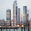 Empire State Nyc Hudson Yards  by Susan Candelario