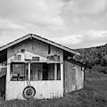 Empty Farm Stand Ryegate Vermont by Edward Fielding