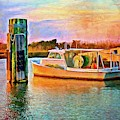 End Of A Boats Day by Alice Gipson