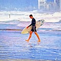 End Of Surfer Day by Alice Gipson