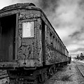 End Of The Line Bw by Brian Corbett