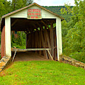 Entrance To The Red Coverd Bridge by Adam Jewell