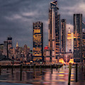 Esb Nyc Hudson Yards Skyline by Susan Candelario