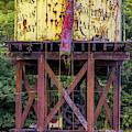 Eureka Springs Railway Water Tower by Gregory Ballos