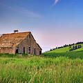 Evening At The Old Barn by Rick Berk