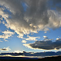 Evening Clouds Over Grand Junction Colorado by Ray Mathis