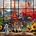 Evening In Paris by Debra and Dave Vanderlaan