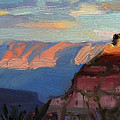 Evening Light At The Grand Canyon by Steve Henderson