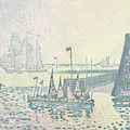 Evening, The Jetty At Vlissingen, 1898 by Paul Signac
