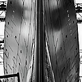 Exact Front View Looking Up At The Hull by Alfred Eisenstaedt