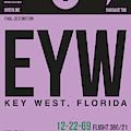 Eyw Key West Luggage Tag I by Naxart Studio