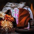 Fabric And Flowers by Tom Mc Nemar