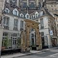 Facade On Rue Des Rosiers by Gary Karlsen