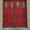 Factory Doors by Terri Souder