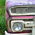 Fade To Pastel Old Truck by Kae Cheatham