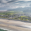 Fairbourne, Snowdonia, Wales - From The Air #2 by Keith Morris