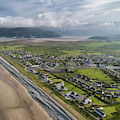 Fairbourne, Snowdonia, Wales - From The Air #3 by Keith Morris