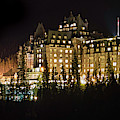 Fairmont Banff Springs Hotel by Tim Kathka