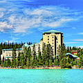 Fairmont Chateau Lake Louise Banff by Ola Allen
