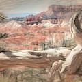 Fairyland Loop Trail - Sketch by Donna Kennedy
