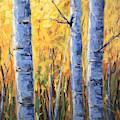 Fall Aspen Iv by Jared Gunnerson