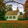 Fall At A Country Church by Nick Zelinsky