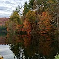 Fall At Lake Logan by Flavia Westerwelle