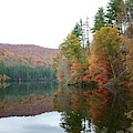 Fall At Lake Logan, Nc by Flavia Westerwelle