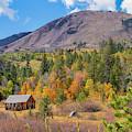 Fall Cabin - 1 by Jonathan Hansen