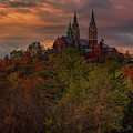 Fall Clouds Over Holy Hill by Dale Kauzlaric