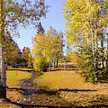 Fall Colors At Fort Bridger by Jim Thompson