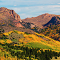 Fall Colors On The North Face Of Pikes Peak by Steve Krull