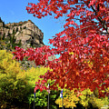 Fall Colors Peak At Hanging Lake Rest Stop by Ray Mathis