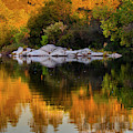 Fall Reflections - 3 by Jonathan Hansen