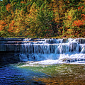 Falls At The Trailhead Of  Lower Taughannock Falls by Lynn Bauer