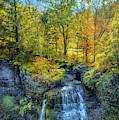 Fall's Splendor At Upper Taughannock Falls by Lynn Bauer