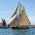 Falmouth Classics Leaving Harbour by Brian Roscorla