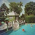 Family Pool by Slim Aarons