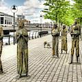 Famine Memorial Dublin by Weston Westmoreland