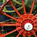 Fancy Tractor Wheel by Paul W Faust -  Impressions of Light